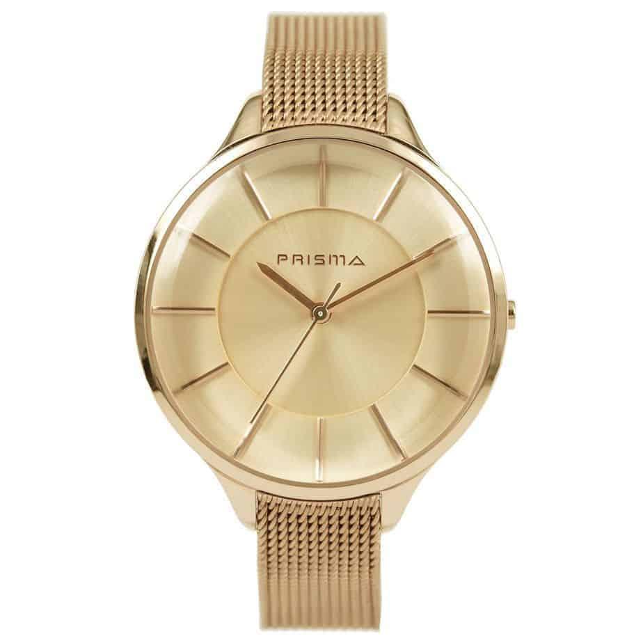 Prisma-P1575-dames-horloges-goud-edelstaal-milanees-l