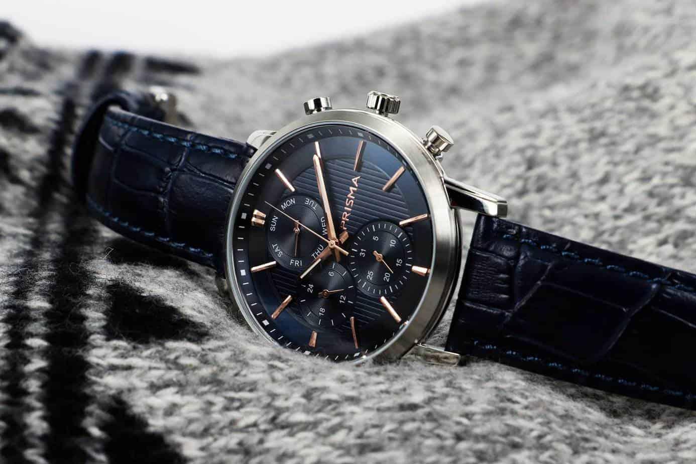 blue dial watches blauwe horloges wijzerplaatprisma refined horloges watches traveller