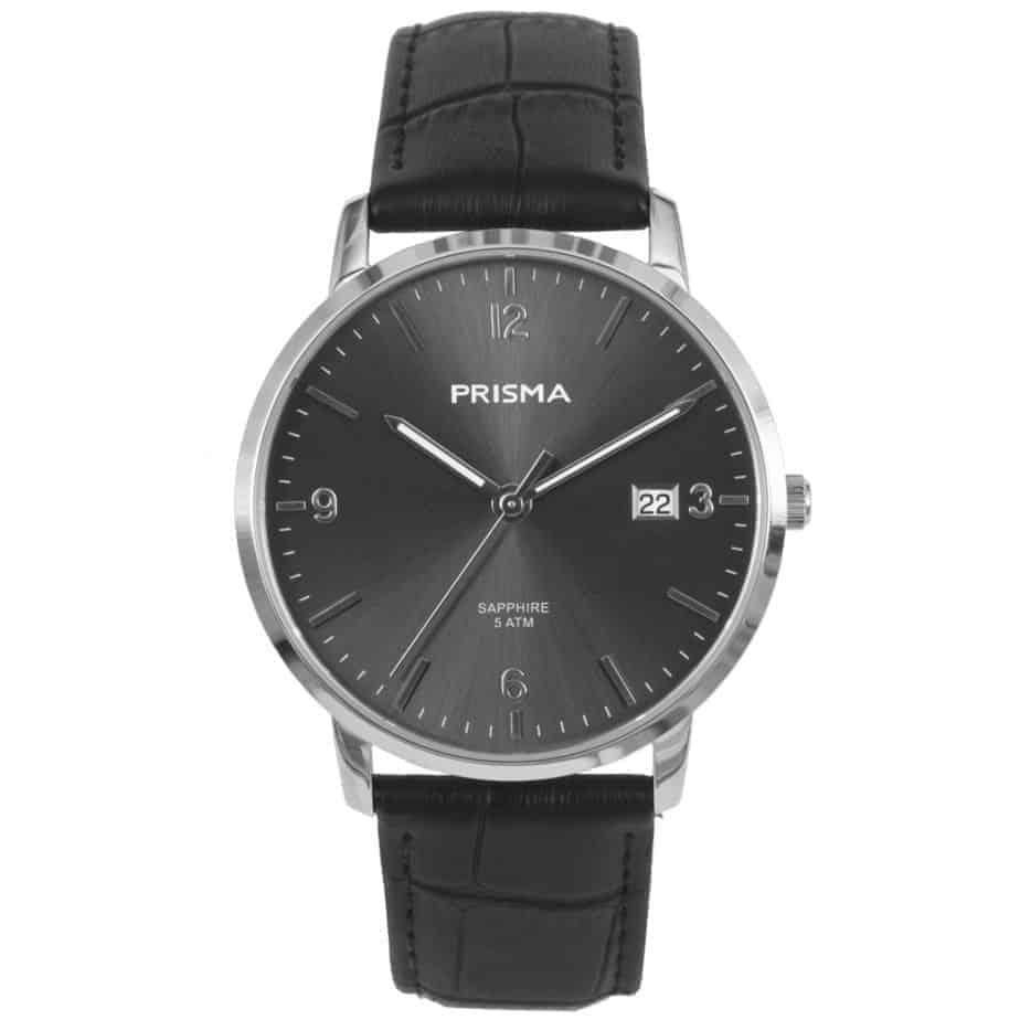 PRISMA 1646 HEREN hORLOGE kopen EDELSTAAL GRIJS MEN P1646 WATCH