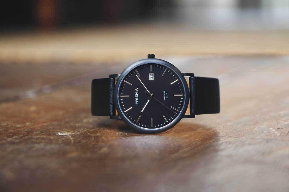 titanium horloge prisma horloges titanium dameshorloge titanium herenhorloge zwart