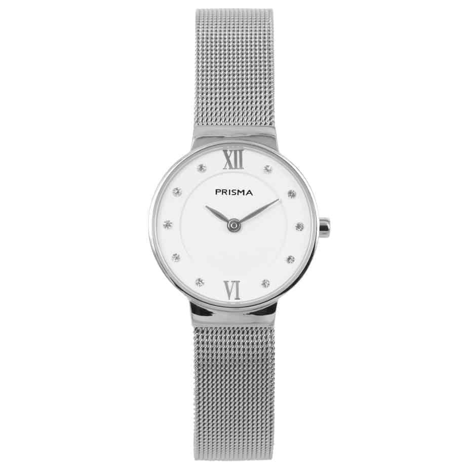 prisma p1457 dames horloge edelstaal zilver