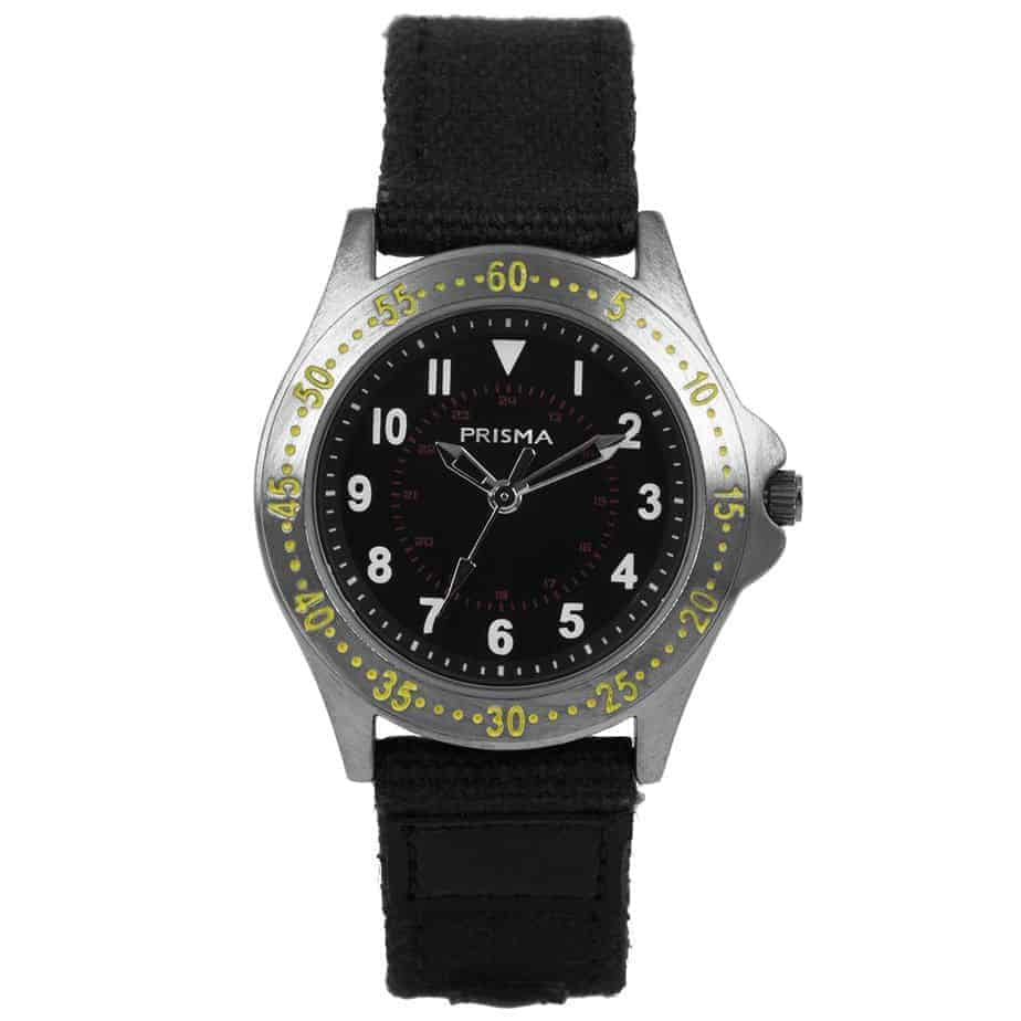 Prisma-CW259-jongens-horloge-Bolk-zwart-l