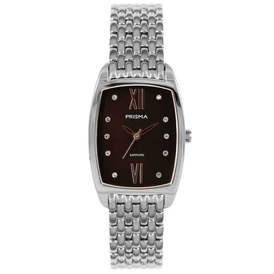 Prisma-P1961-dames-horloge-edelstaal-strass-vierkant-l