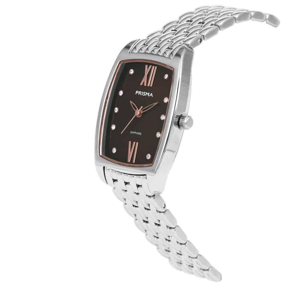 Prisma-P1961-dames-horloge-edelstaal-strass-vierkant-schuin-l
