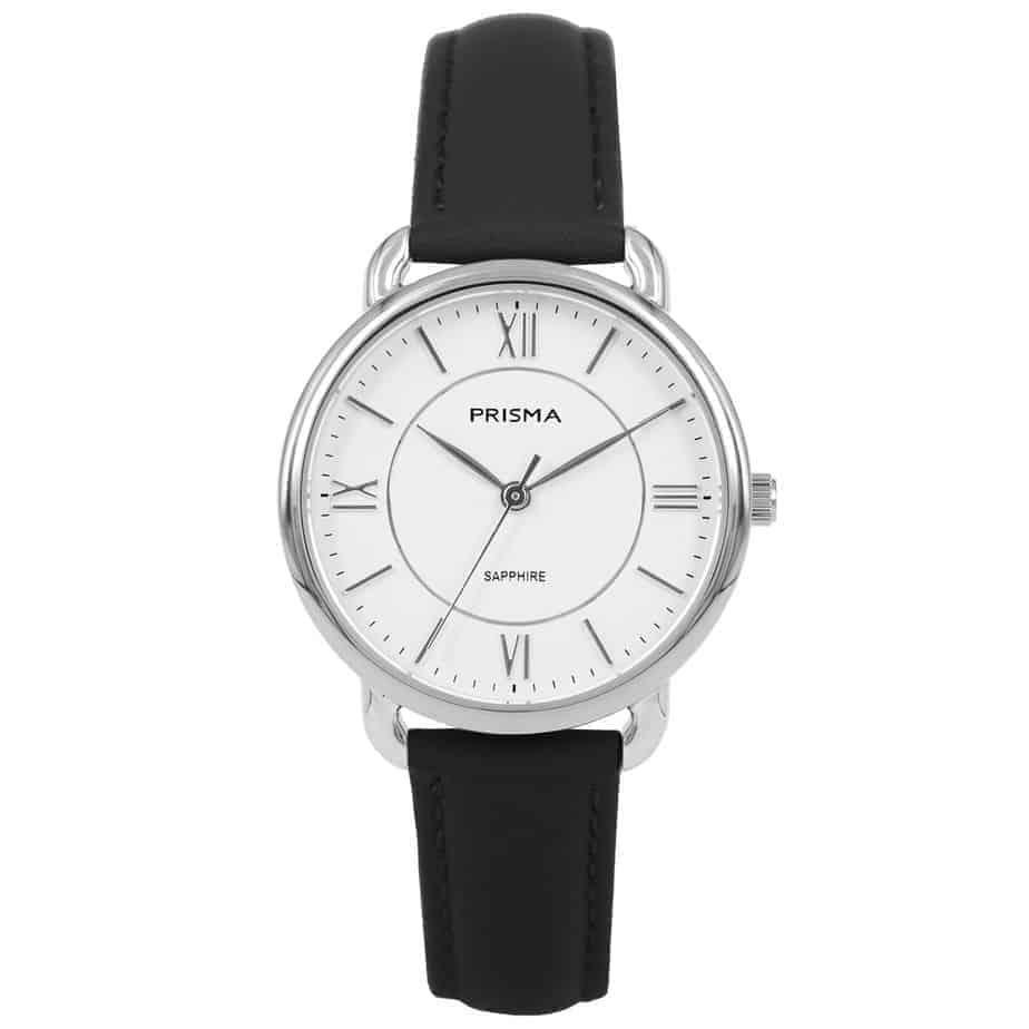 Prisma-P1970-dames-horloge-edelstaal-Zilver-l