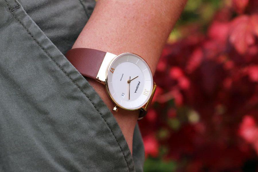 Prisma horloge dameshorloge Aston Gold ladies watch