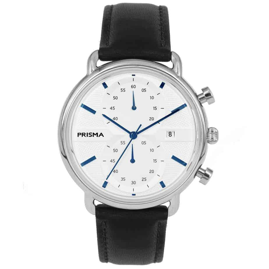 Prisma 1920 Dome P1920 heren horloge edelstaal chronograaf chronograph men's watch