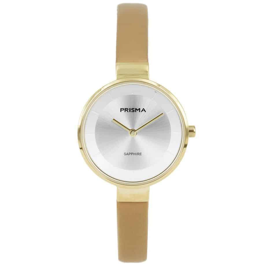 Prisma-P1926-dames-horloge-edelstaal-goud-l