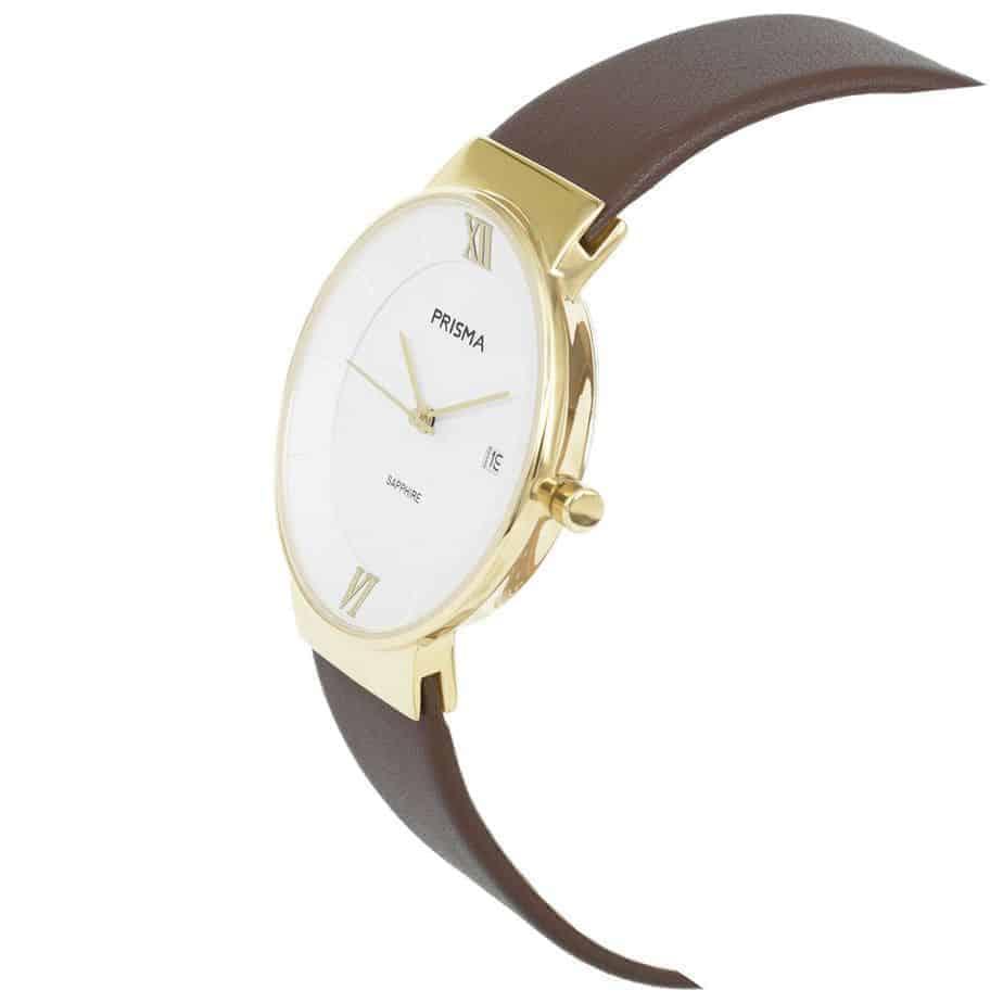 Prisma-P1940-dames-horloge-edelstaal-danish-design-schuin