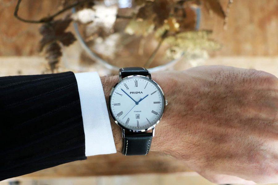 Prisma horloge heren Tailor Brown men watch
