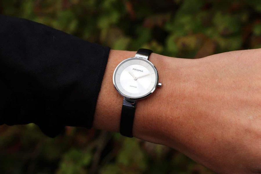 Prisma horloge dameshorloge Touch Silver ladies watch