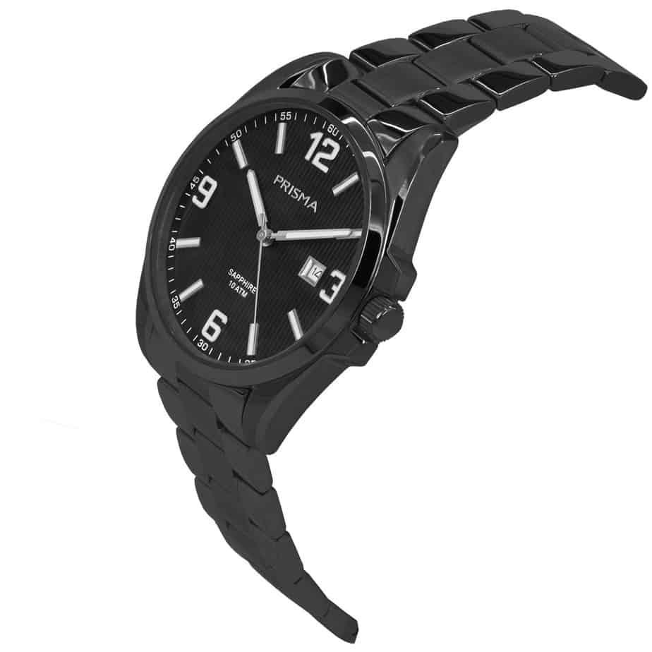 Prisma-P1148-heren-horloge-edelstaal-shockproof-schuin