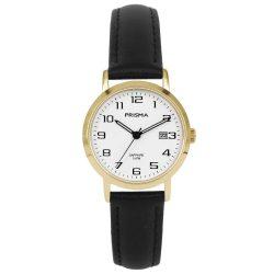 Prisma 1748 dames horloge goud edelstaal